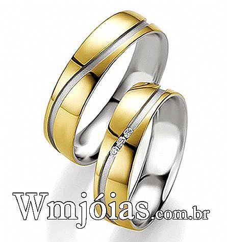 Alianças  em ouro Rio de Janeiro WM2754