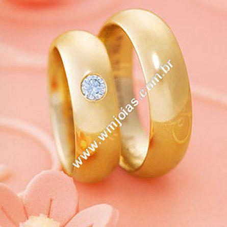 Alianças em ouro WM1685