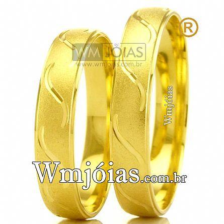Alianças em ouro WM2476