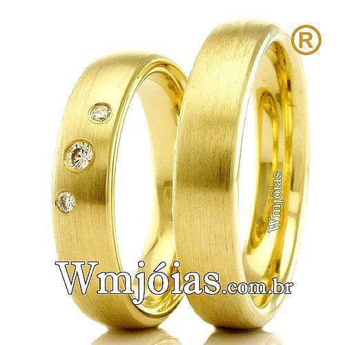 Alianças para casamento WM2308