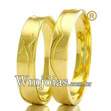 Aliancas para casamento WM2461