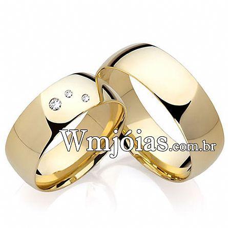 Alianças para noivado WM2200