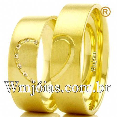 Aliancas para noivado WM2471
