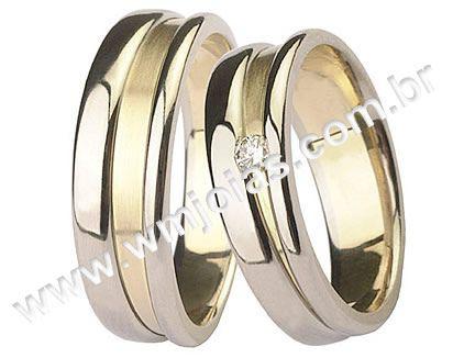 Aliançasde noivado e casamento WM1516