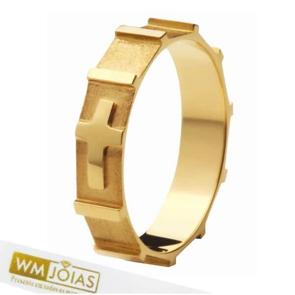 Anel de Ouro Terço  18k 750   WM10162
