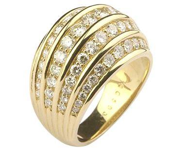 Anel  em ouro 18k750 WM1451