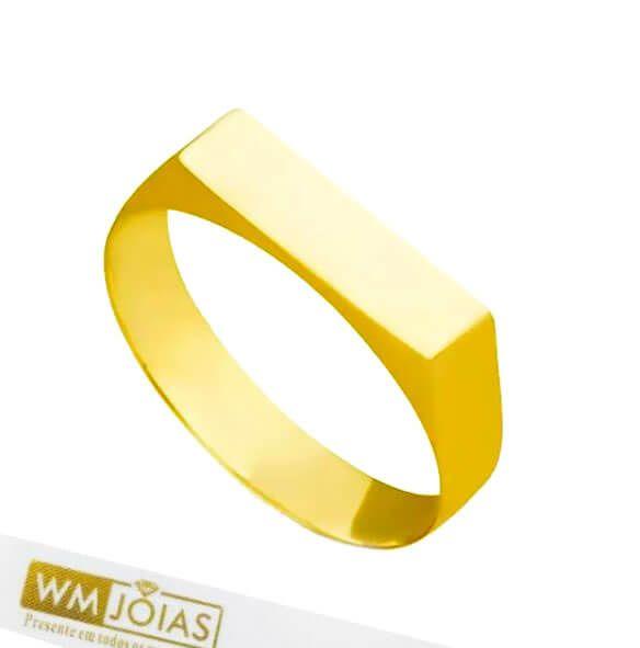 Anel Sinete ouro 18k WM10160