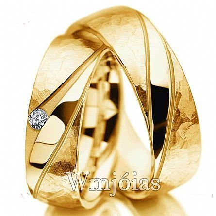 Par de Alianças de Casamento WM2822