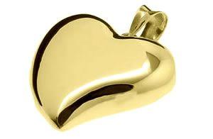 Pingente de ouro coração WM1101