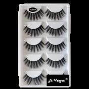 Caixa 5 Pares De Cílios Postiços Premium #G804 - Le Vangee