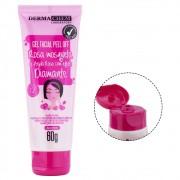 Gel Facial Peel Off Rosa Mosqueta E Argila Rosa Com Efeito Diamante- Dermachem