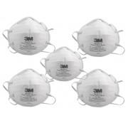 Kit 5 uni Mascara Respirador 3m Pff2 N95 8822 Inmetro Anvisa