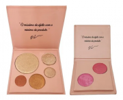 Kit Paleta De Iluminador + Blush Duo Angel Wings Catharine Hill