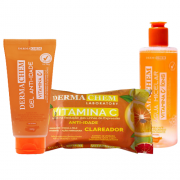 Kit Pele Perfeita Vitamina C Derma Chem