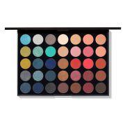 Paleta com 35 cores sombras 35H - Morphe