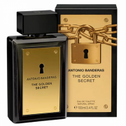 The Golden Secret- Antonio Banderas 100ml Perfume Masculino Eau de Toilette