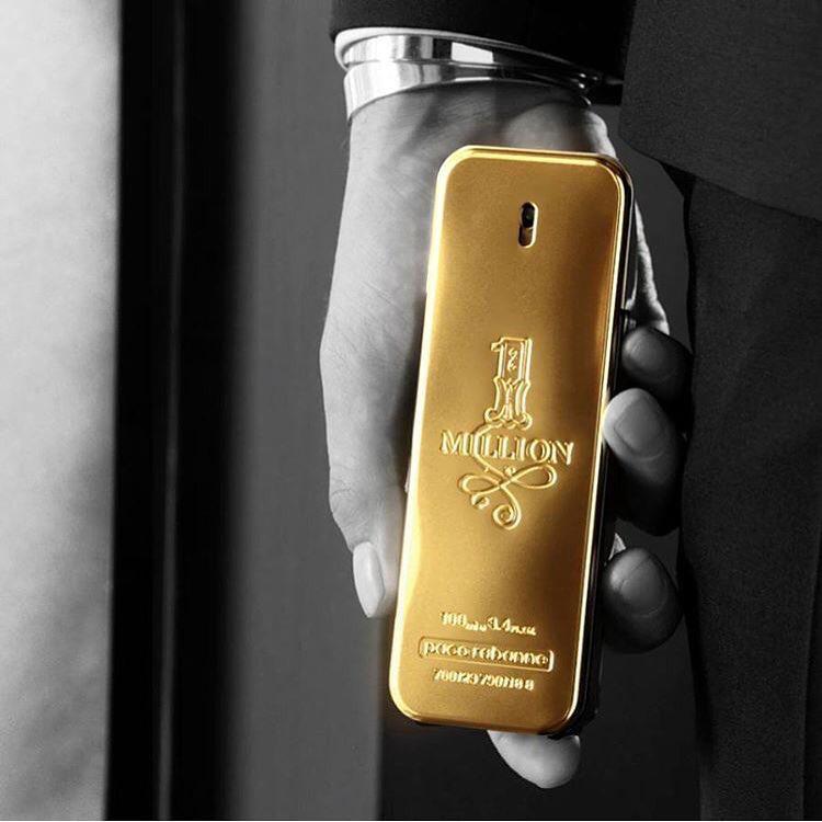 1 Million - Paco Rabanne 100ml Perfume Masculino Eau de Toilette