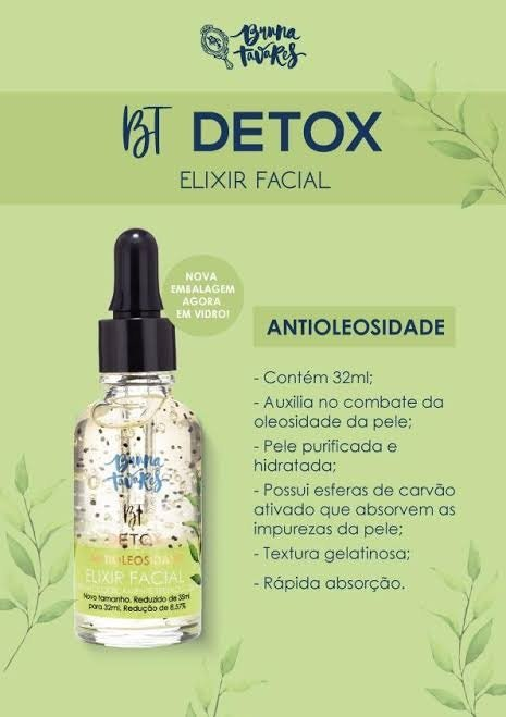 BT Detox Elixir Antioliosidade - Bruna Tavares