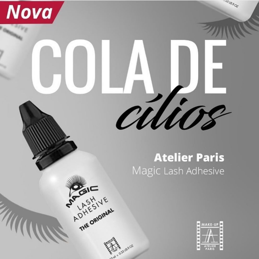Cola para Cílios Postiços Magic Lash  - Atelier Paris