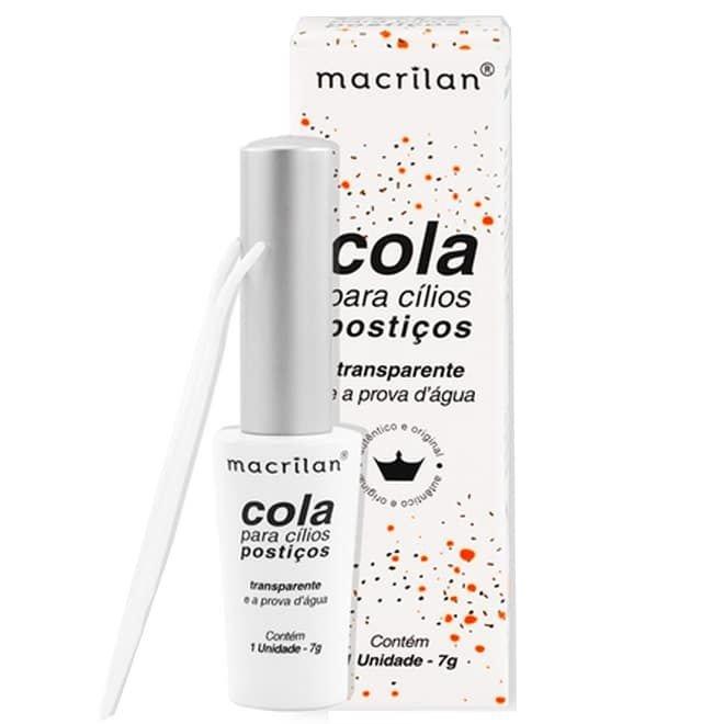 Cola para Cílios Postiços Transparente CA-001 - Macrilan