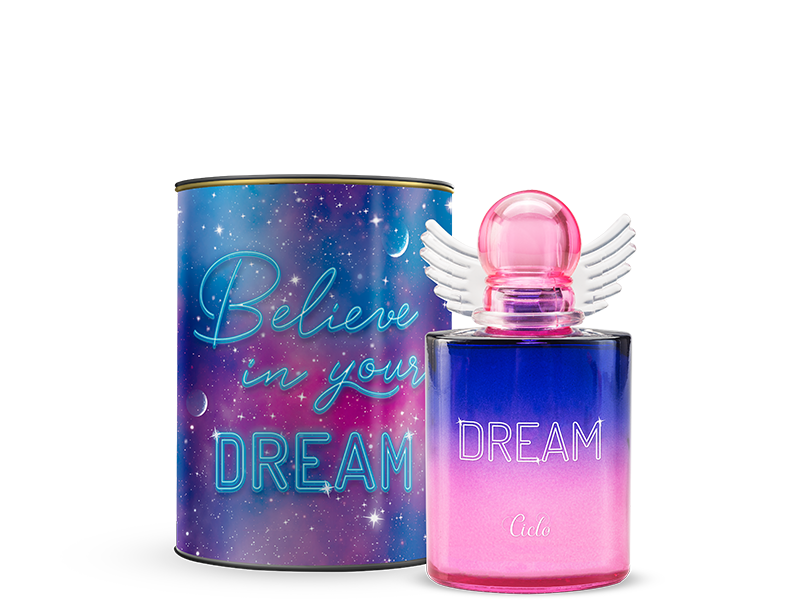 Dream- Ciclo 100ml Perfume Feminino Colônia Lata