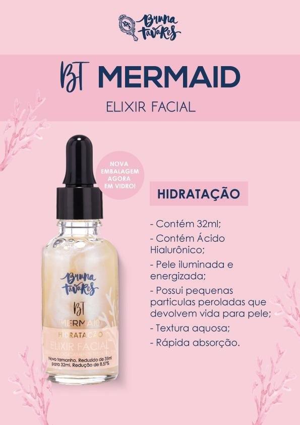 Elixir Hidratante Bt Mermaid - Bruna Tavares