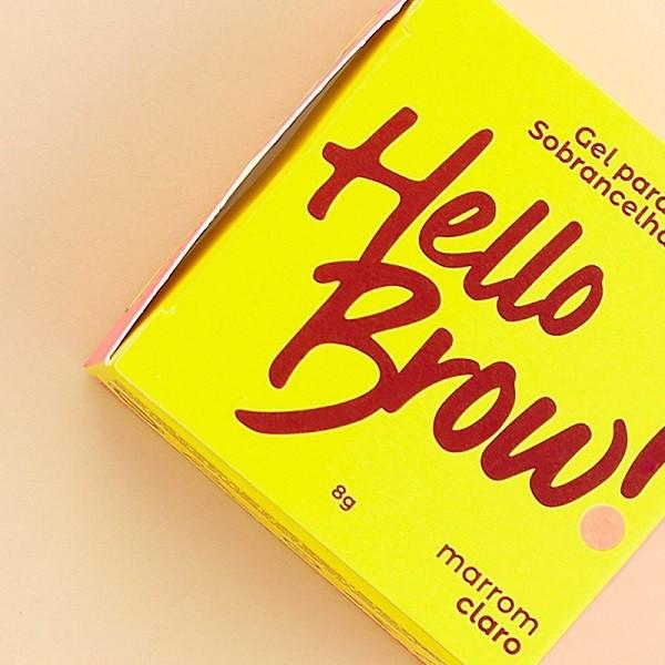 Gel para Sobrancelhas Hello Brow- Vizzela