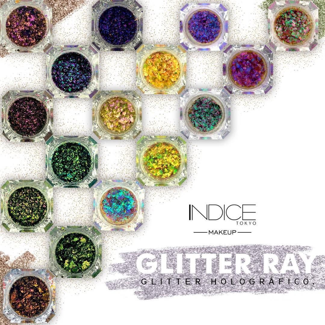 Glitters Ray Multicromáticos - Indice Tokyo