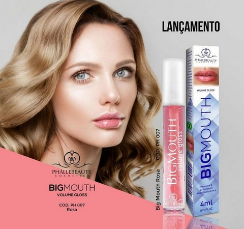 Gloss Labial Big Mouth Color- Phállebeauty
