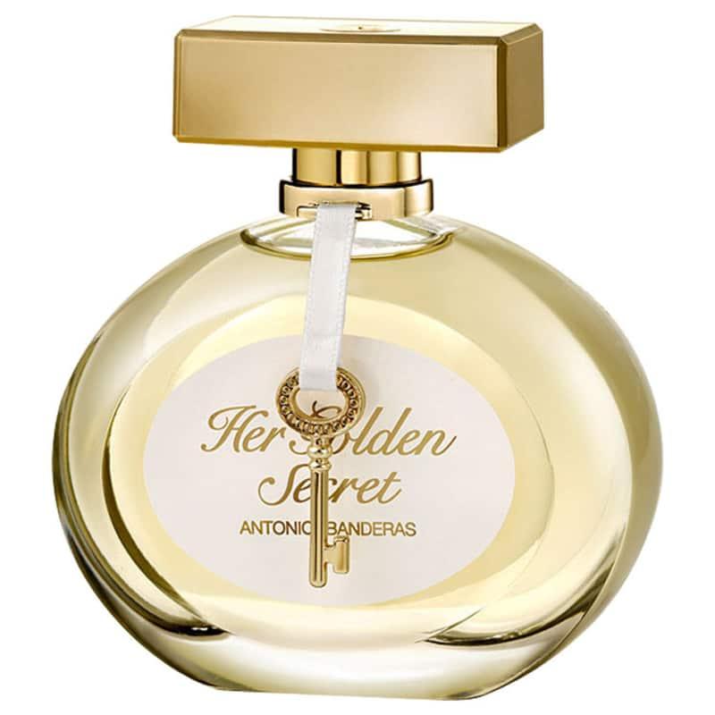 Her Golden Secrets-Antonio Banderas 80ml Perfume Feminino
