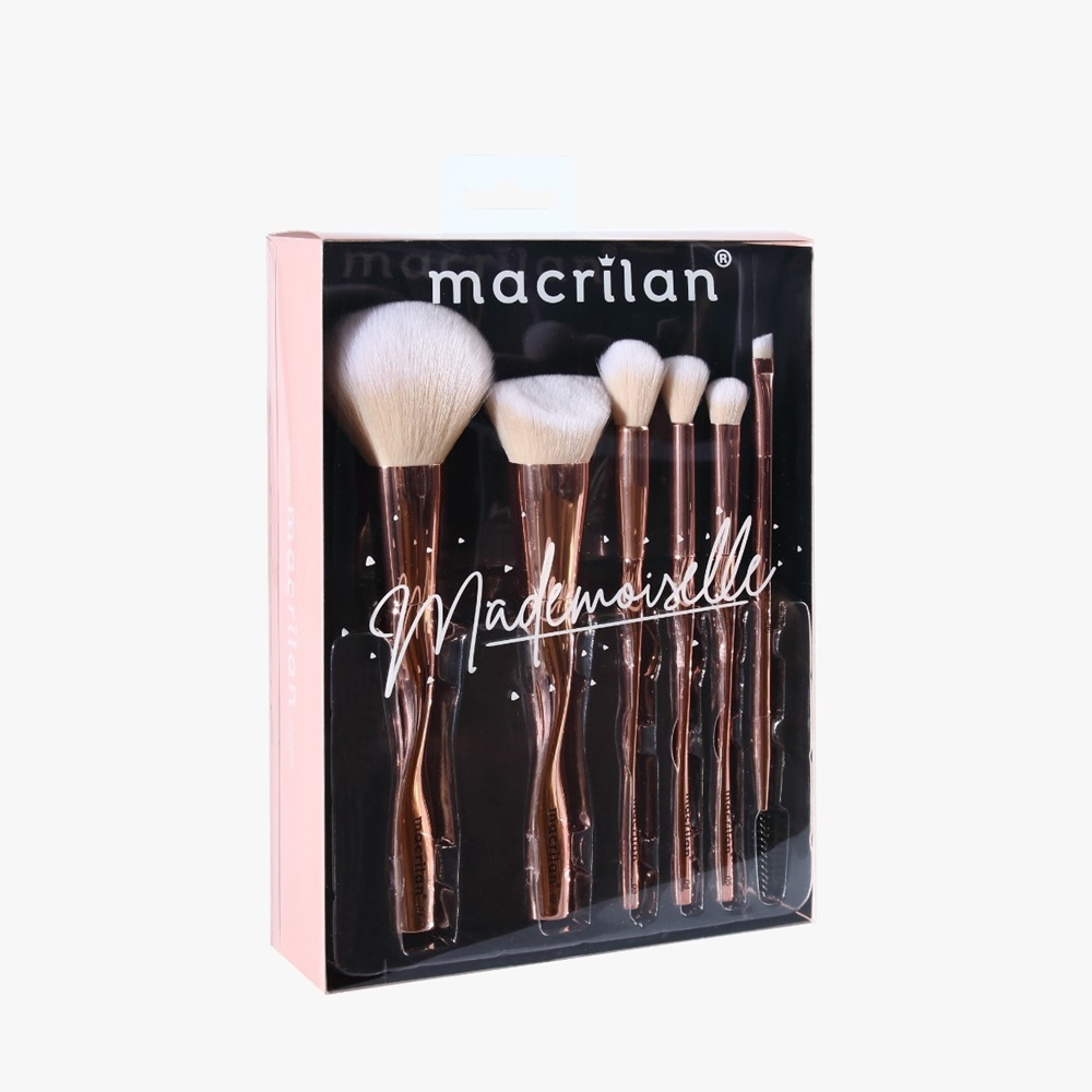 kit De Pincéis Mademoiselle ED004 - Macrilan
