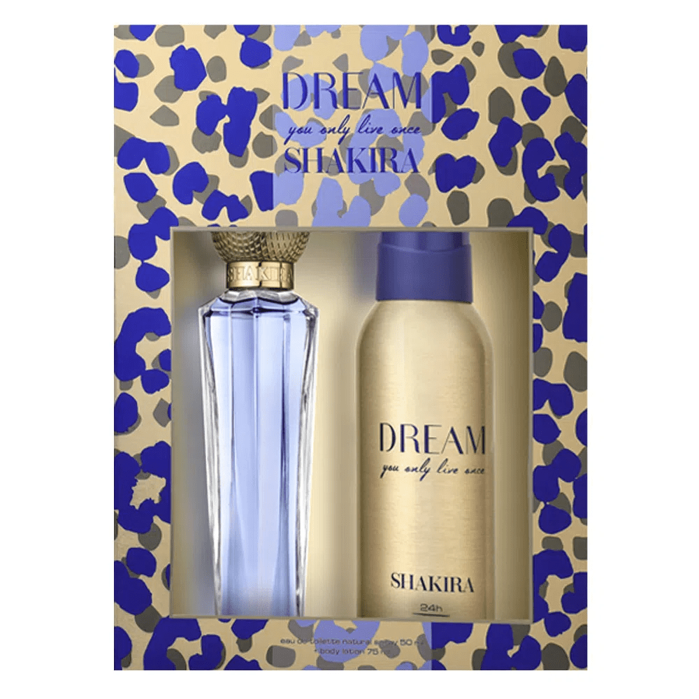 Kit Dream- Shakira Perfume Feminino 80ml + Desodorante 150ml Eau De Toilette