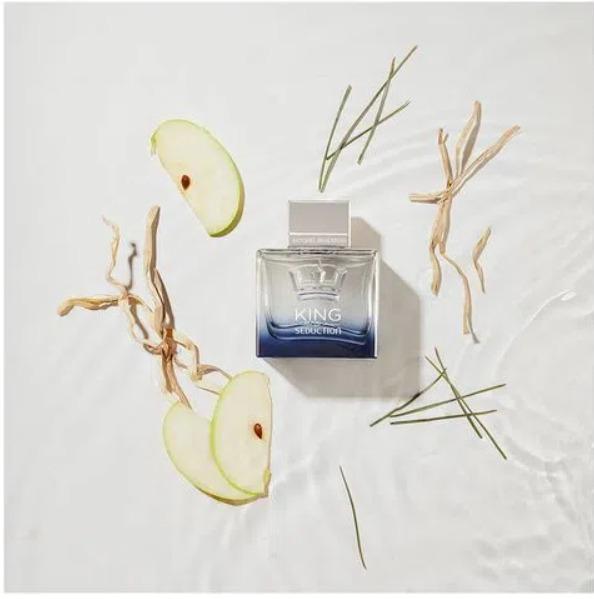 Kit Presente Dia Dos Pais King Of Seduction - Antonio Banderas 100ml Perfume Masculino + Desodorante 150ml