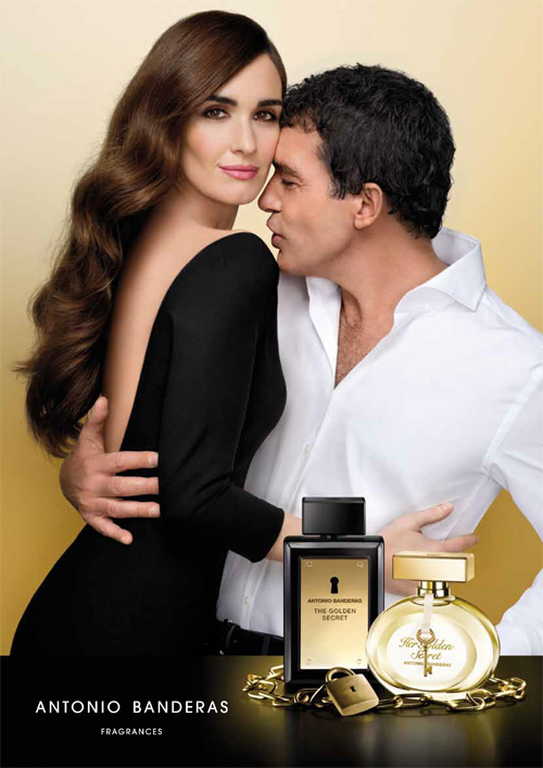 Kit Perfume Feminino Her Golden Secret 80ml+Perfume Masculino The Golden Secret 100ml Antonio Banderas