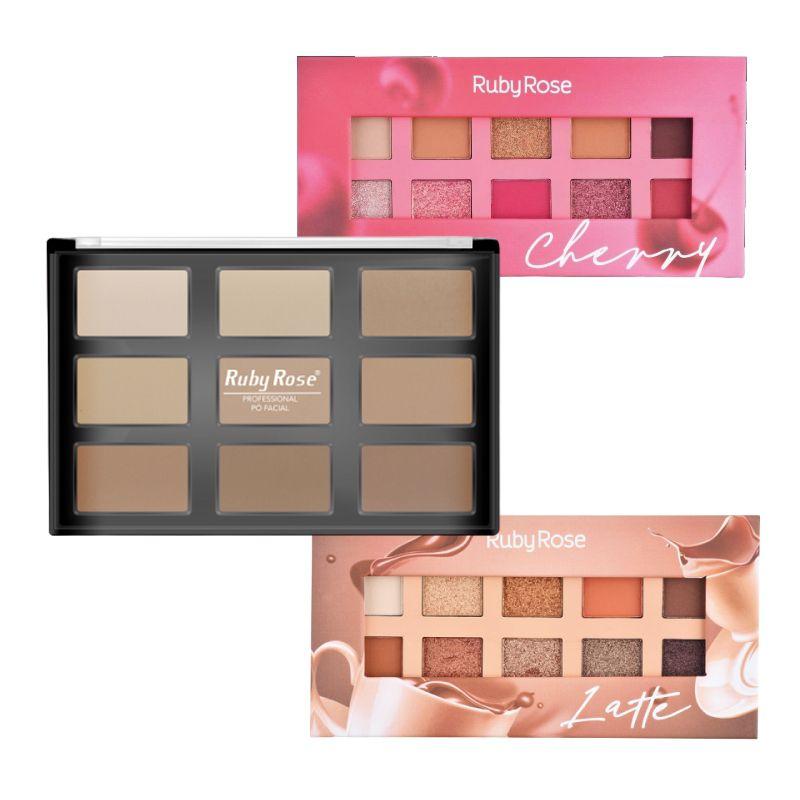 Kit 6 Paletas Ruby Rose