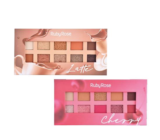 Kit Ruby Rose 2 Paletas Lançamento