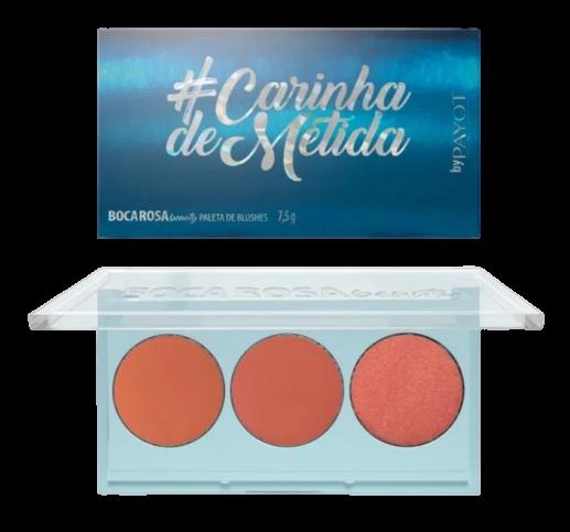 Paleta De Blush #Carinhademetida - Boca Rosa