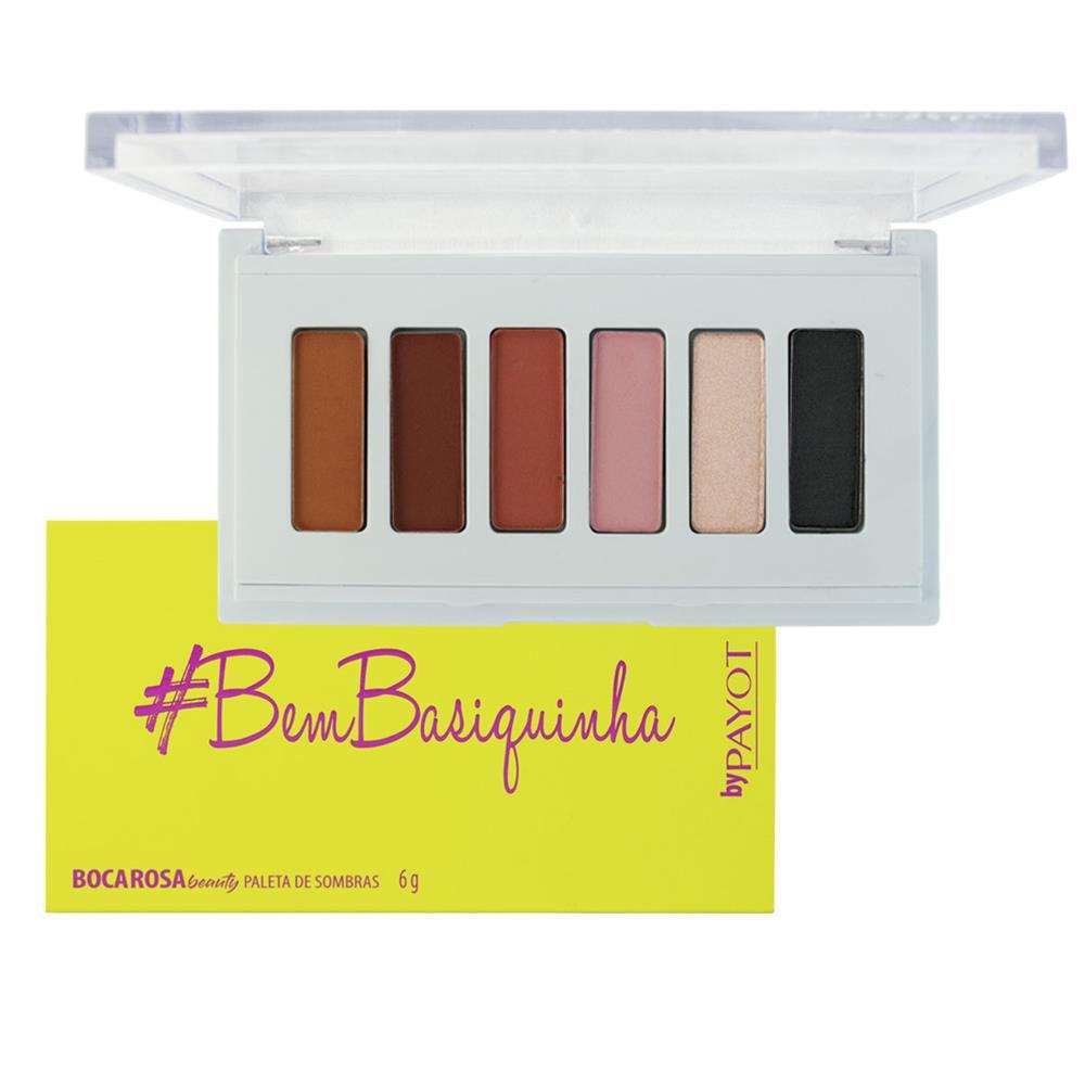 Paleta de Sombra #BemBasiquinha - Boca Rosa