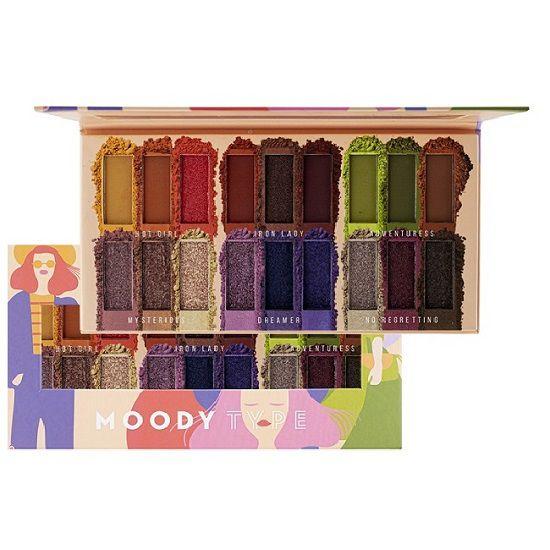 Paleta de Sombra Moody Type - Ruby Rose