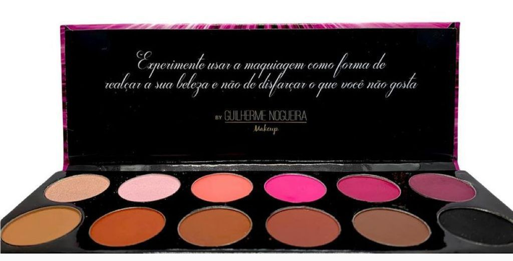 Paleta De Sombras Colors 2 12 Cores - Guilherme Nogueira