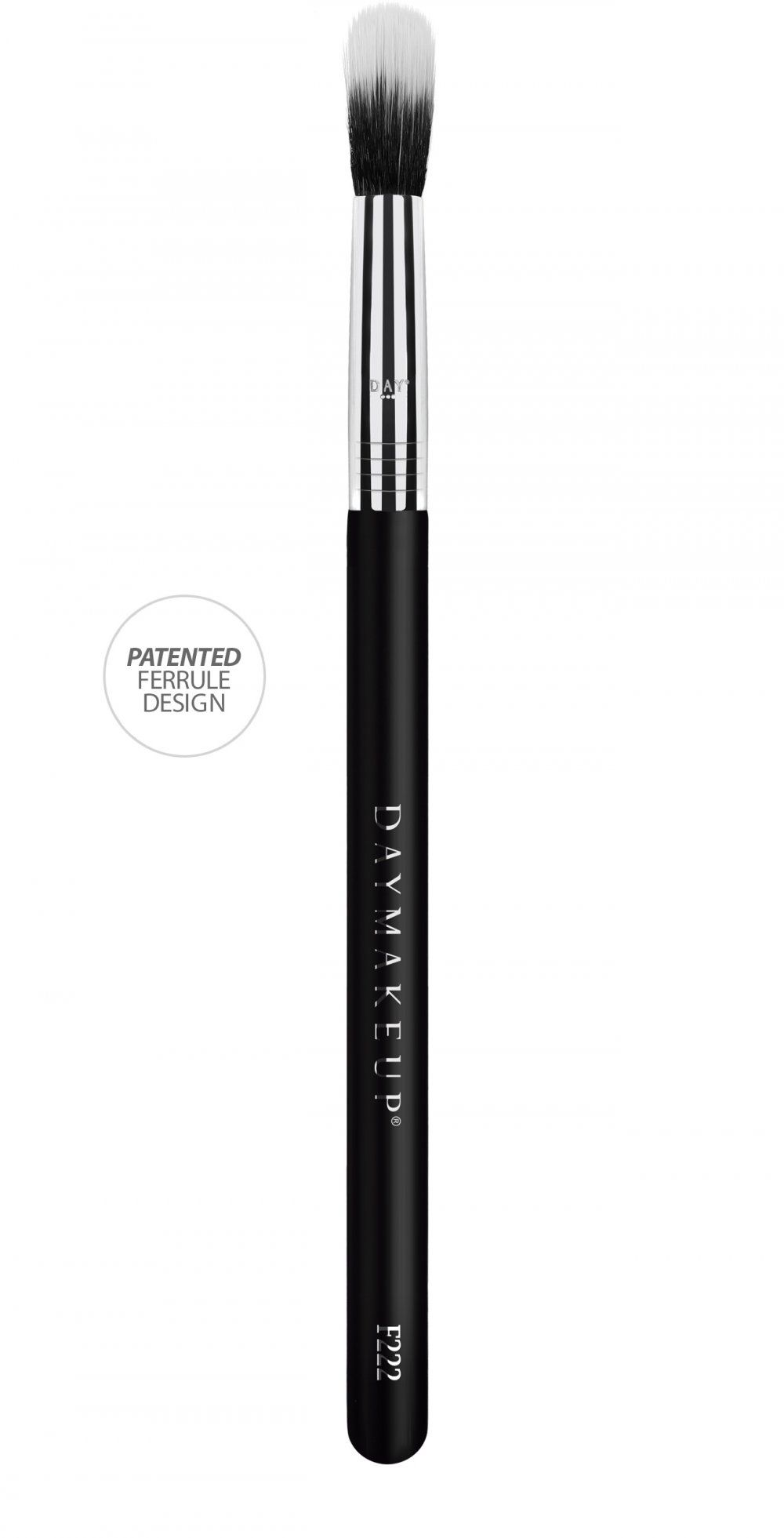 Pincel Duo Fiber Para Iluminação F222 - Daymakeup