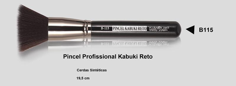 Pincel Kabuki Reto B115 - Macrilan