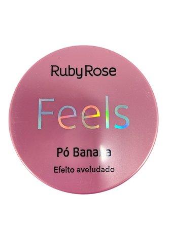 Pó Facial Translúcido Banana Feels- Ruby Rose