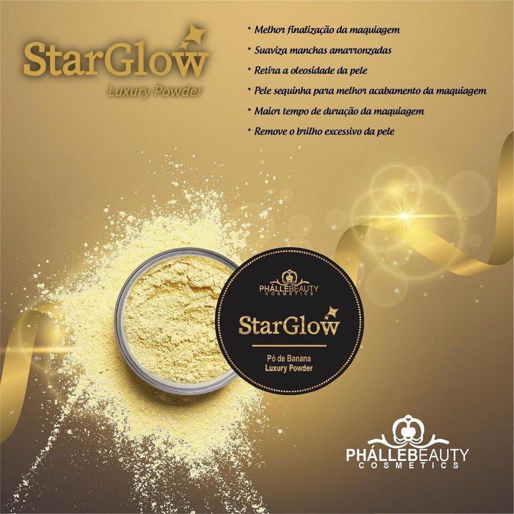 Pó Facial Translúcido Banana Star Glow- Phállebeauty