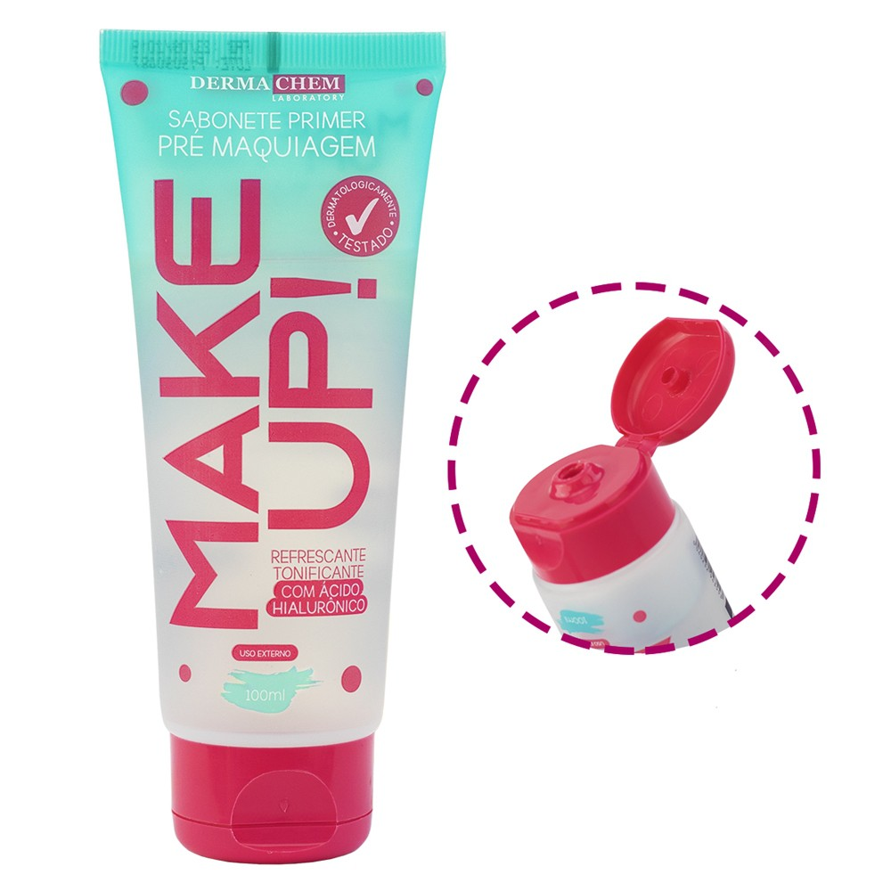 Sabonete Primer Pré Maquiagem Make Up 100 ml - Derma Chem Laboratory