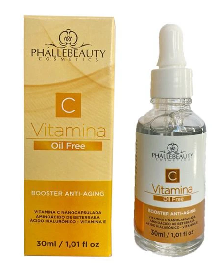 Sérum Vitamina C Booster Anti-Aging- Phállebeauty
