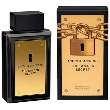 The Golden Secret- Antonio Banderas 200ml Perfume Masculino Eau de Toilette