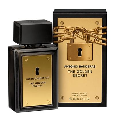 The Golden Secret-Antonio Banderas 50ml  Perfume Masculino Eau de Toilette