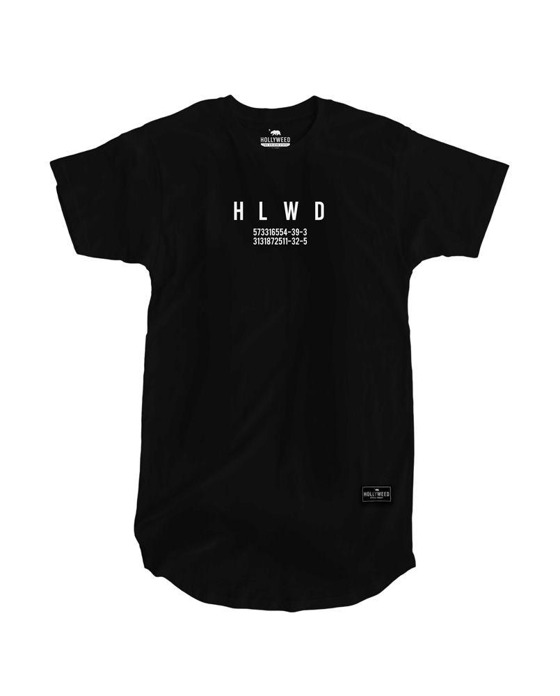 Camiseta Longline Numerology