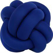 Almofada Escandinava Nó Azul Royal